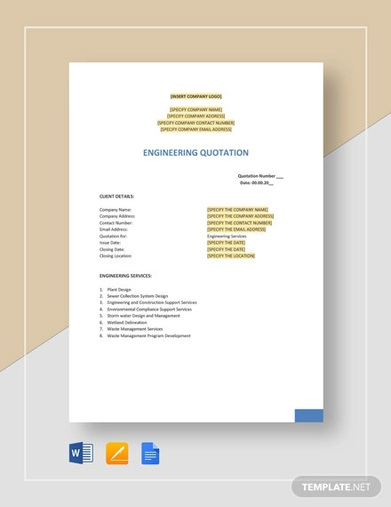 engineering quotation template1