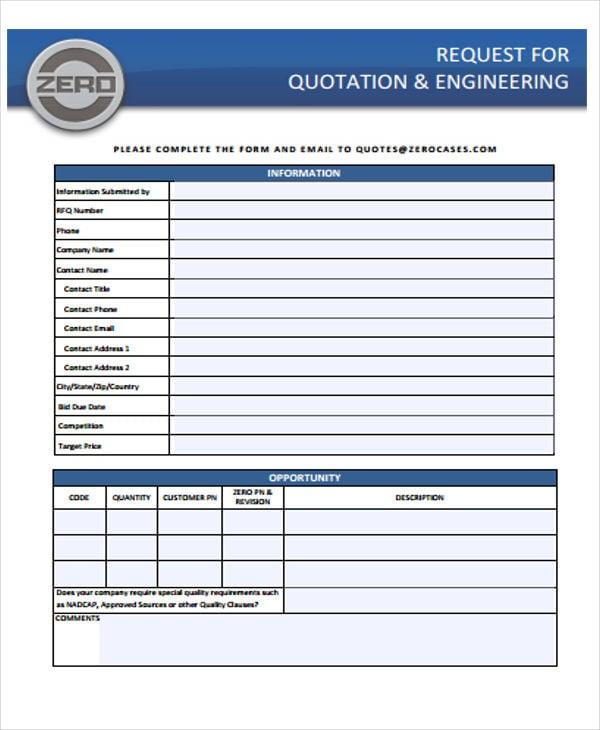 engineering request