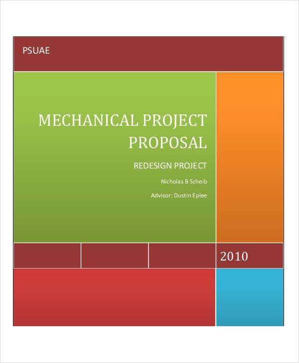 engineering student project proposal