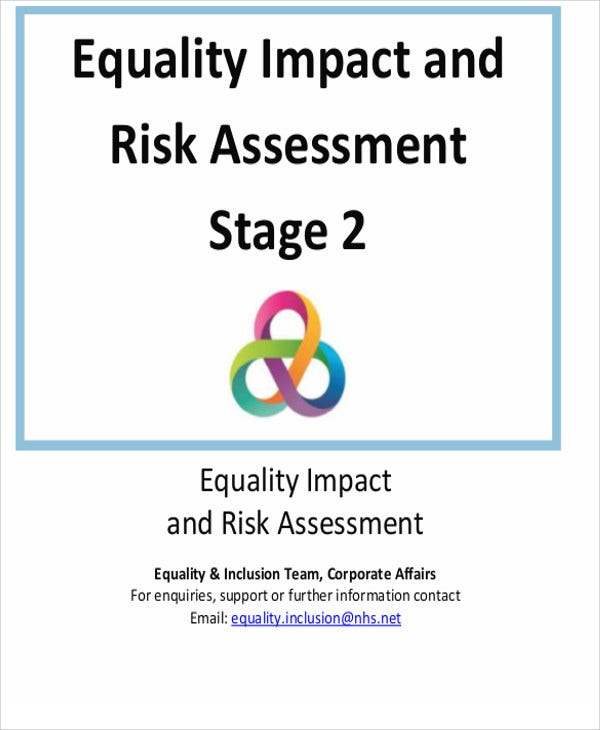 equality impact risk assessment