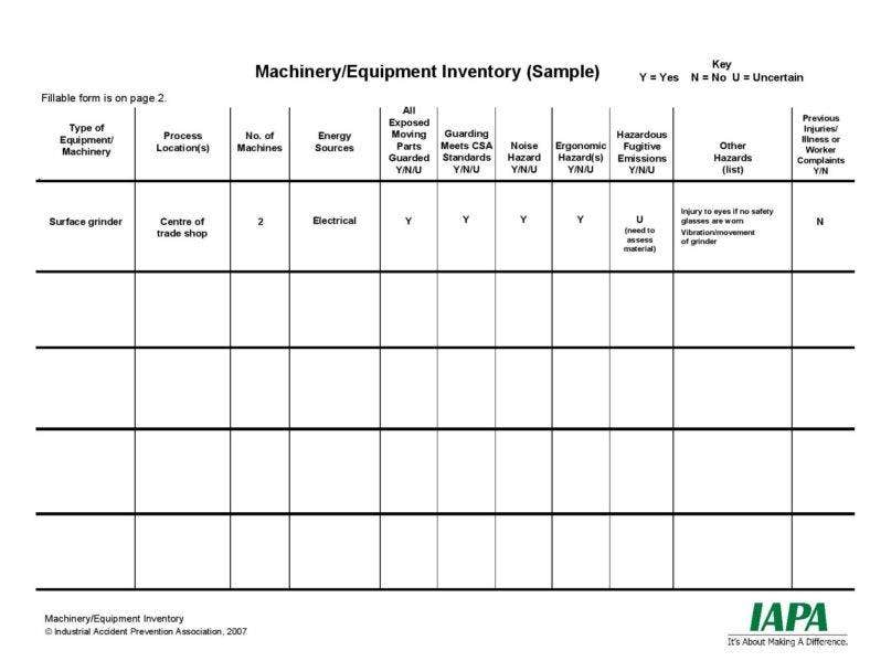 equipment inventory list template page 001 788x609