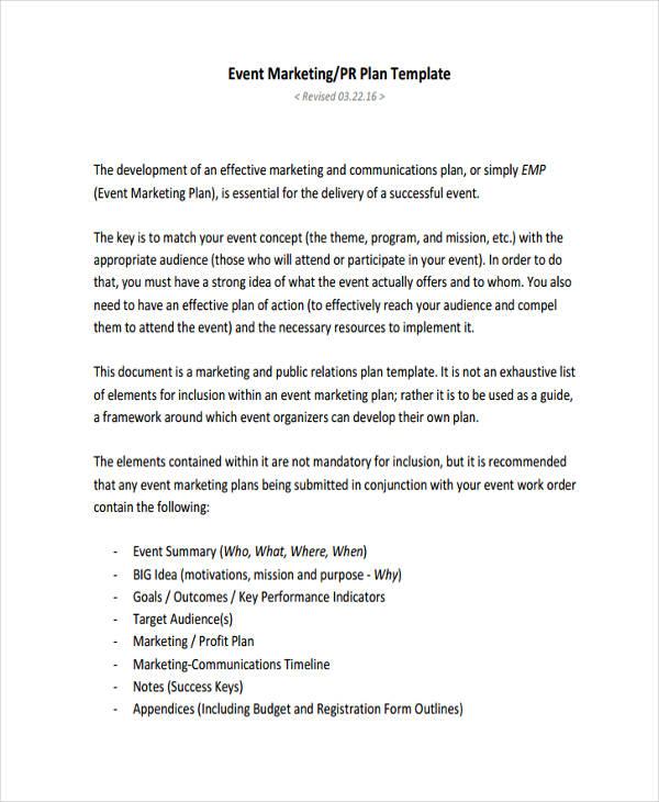 event marketing timeline1