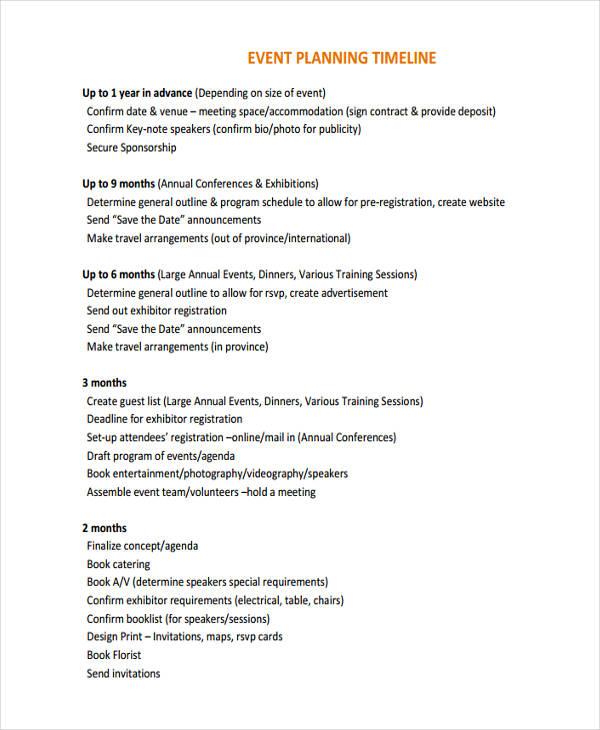 event planning timeline1