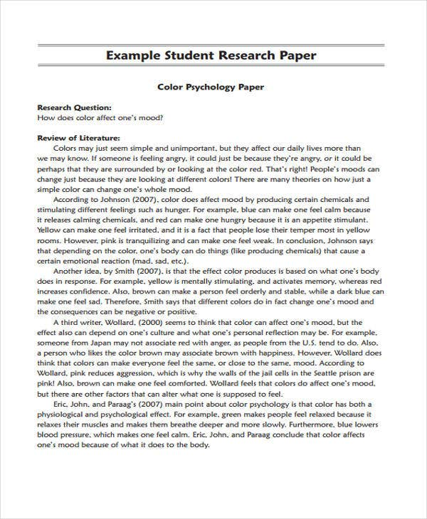 Reaserch paper