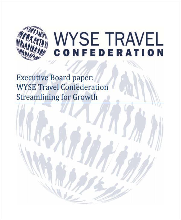 executive board paper