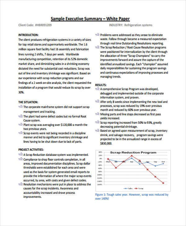 executive summary white paper2