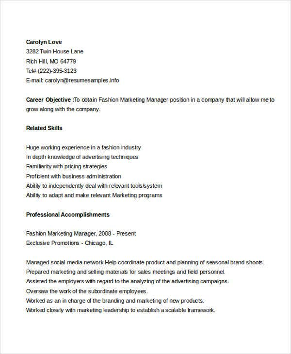 41 best marketing resume free premium templates