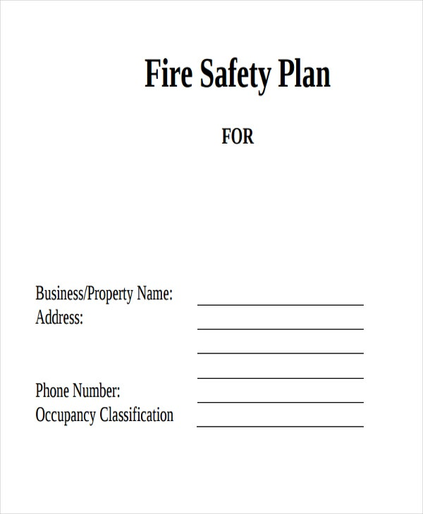 fire safety audit plan