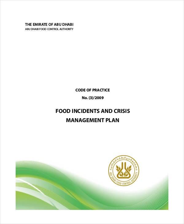food crisis management plan1