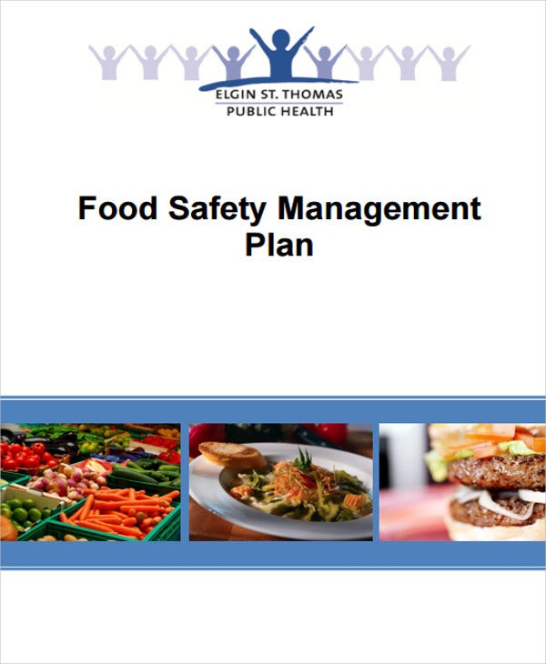 food quality management plan