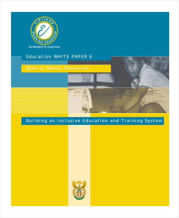 free education white paper1