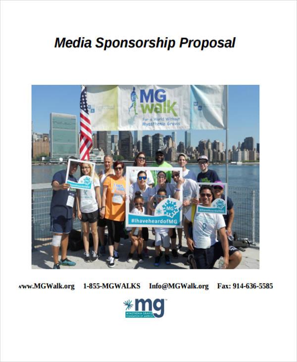 free media sponsorship proposal