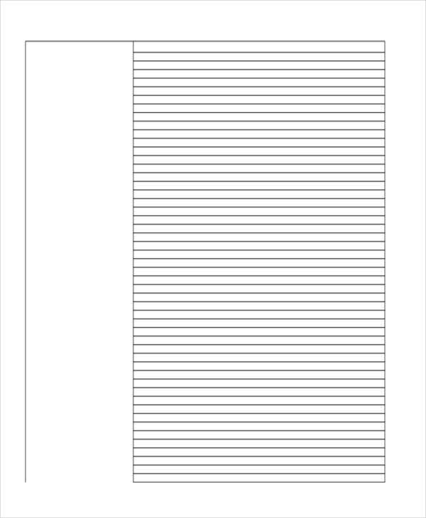 free printable primary lined paper