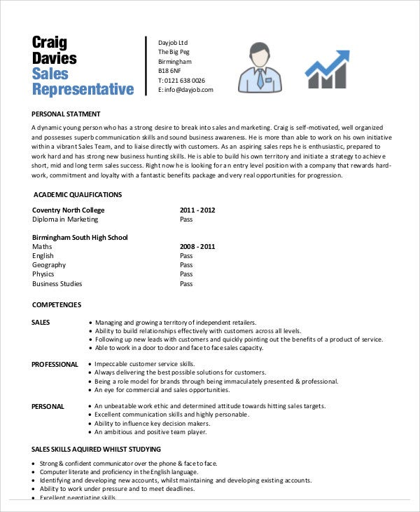 free sales representative pharmaceutical rep resume examples template
