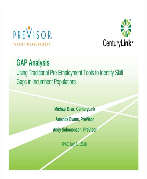 gap analysis of employee skill