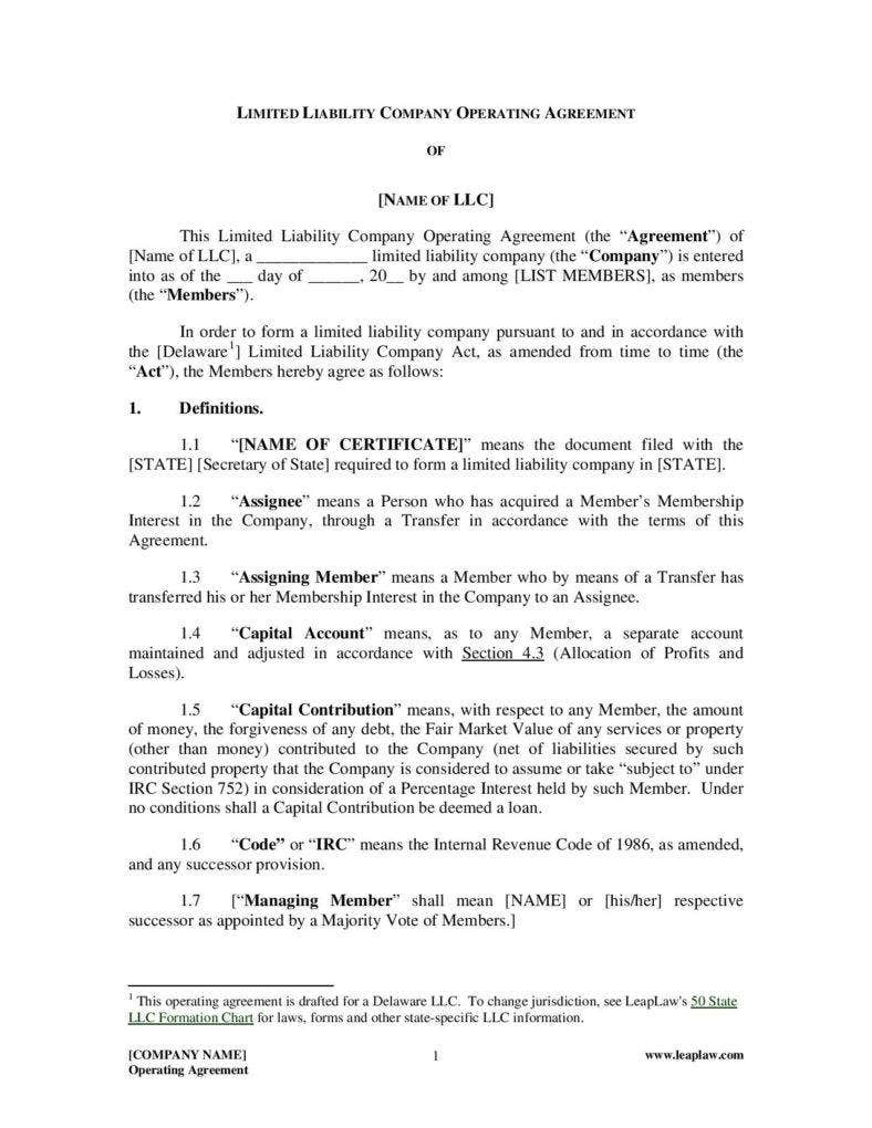 general-partnership-operating-agreement-page-002