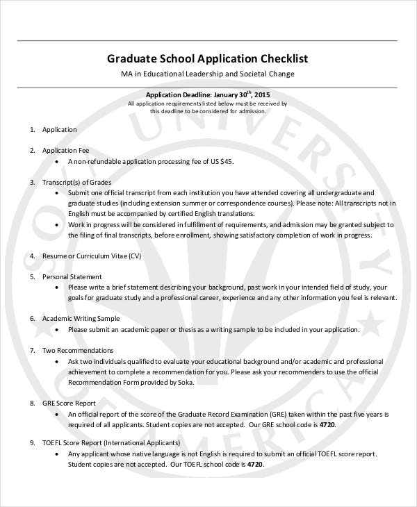 Graduate--Application-Checklist Job Application Google Form on blank generic, sonic printable, part time, big lots, free generic,