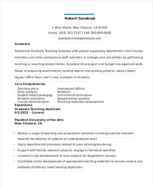 25 resume formats free premium templates