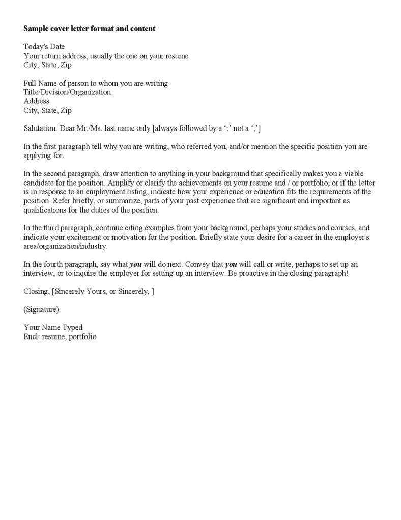 10 cover letter templates for freshers free premium for Who do you direct a cover letter to