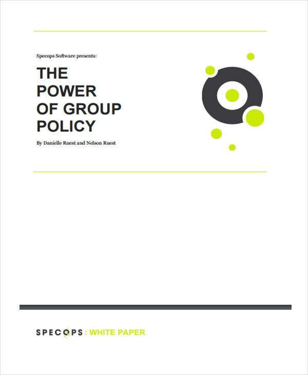 group policy white paper2