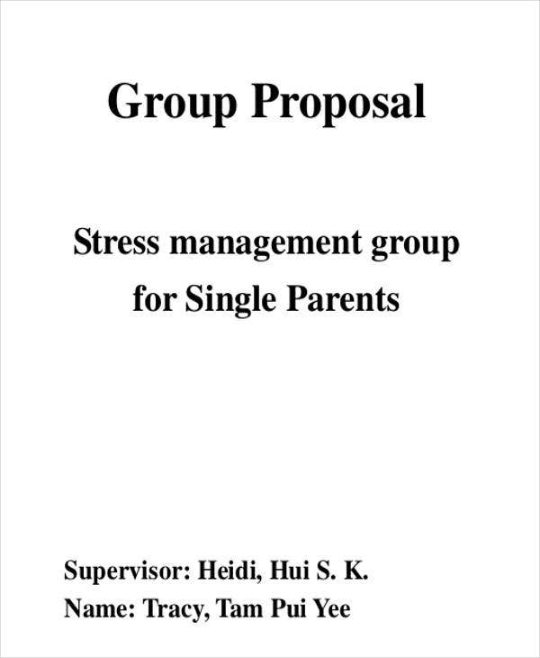 group proposal sample