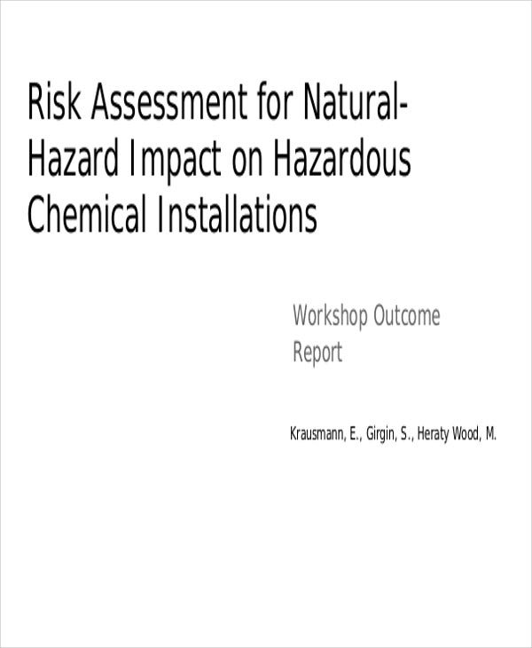 hazard impact risk assessment