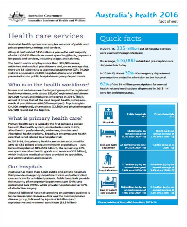 health fact sheet template 23 fact sheet templates free premium templates