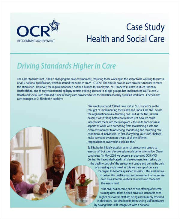 health and social case study1
