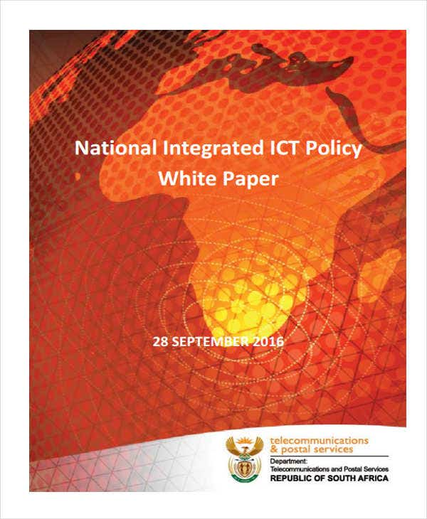 ict policy white paper