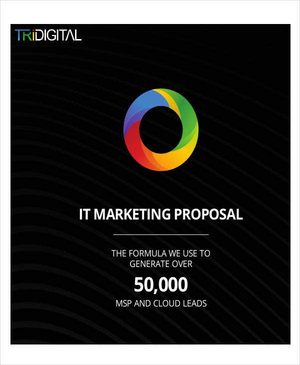 it marketing project proposal