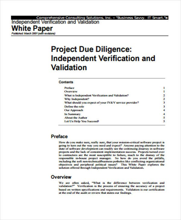 independent project white paper1