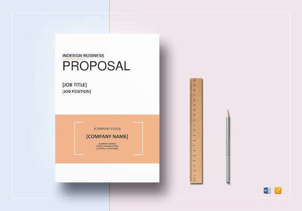 indesign business proposal template