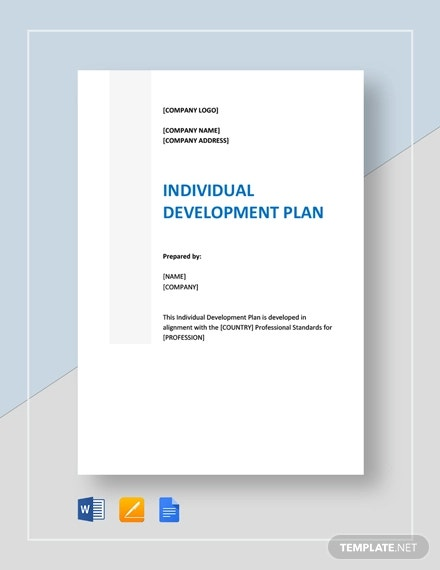 individual development plan template1