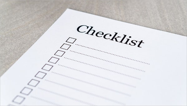 induction checklist templates