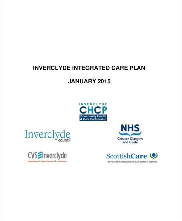 integrated care plan