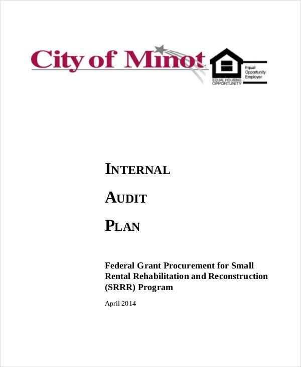 Audit Plan Templates  Free Word Pdf Format Download  Free