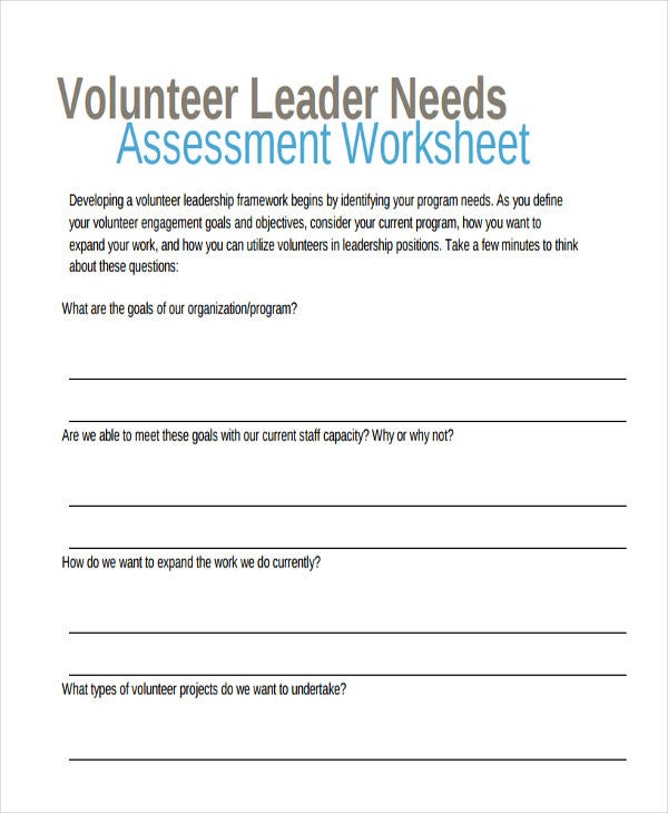 leadership volunteer