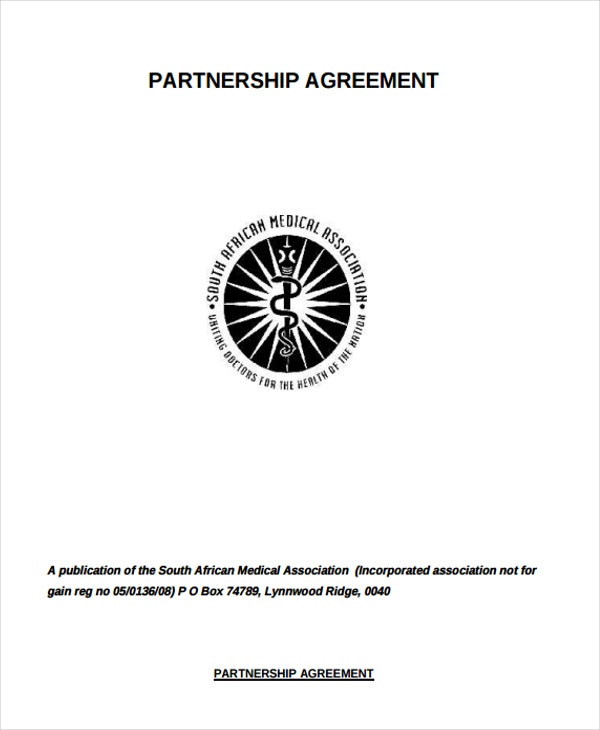 legal partnership agreement