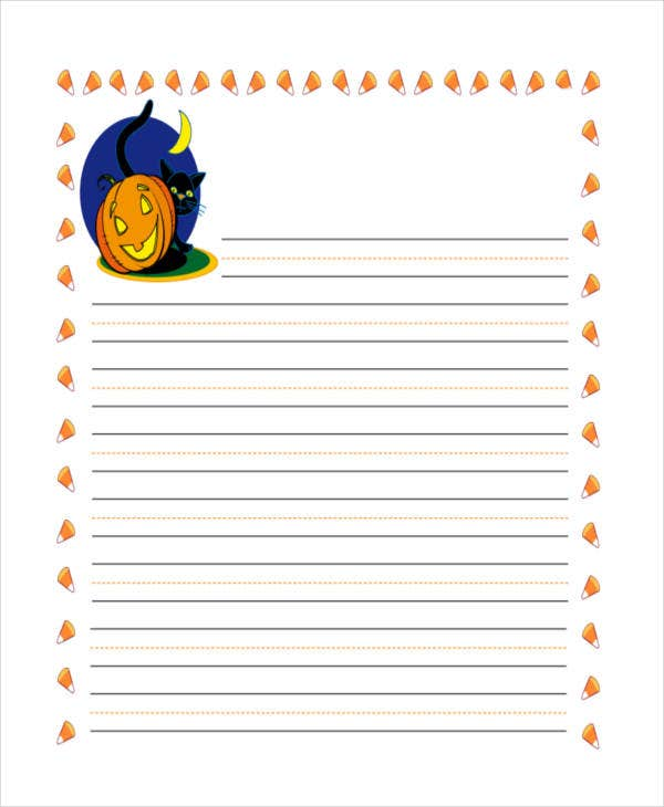 picture regarding Printable Lined Paper Kindergarten referred to as 29+ Printable Included Paper Templates No cost Top quality Templates