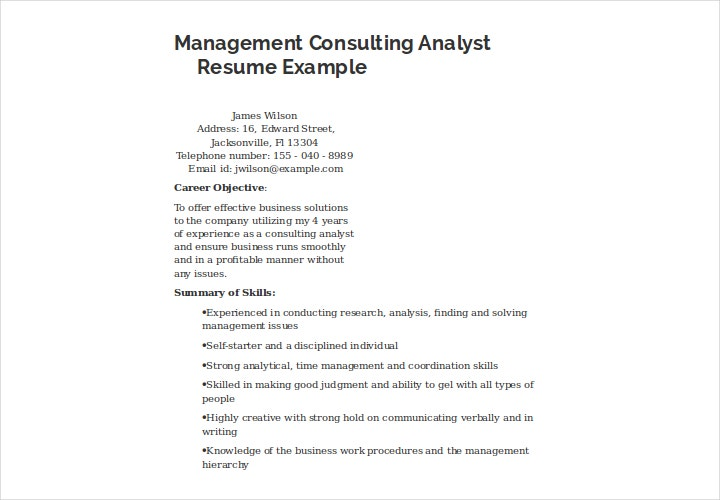 management-consulting-analyst-resume