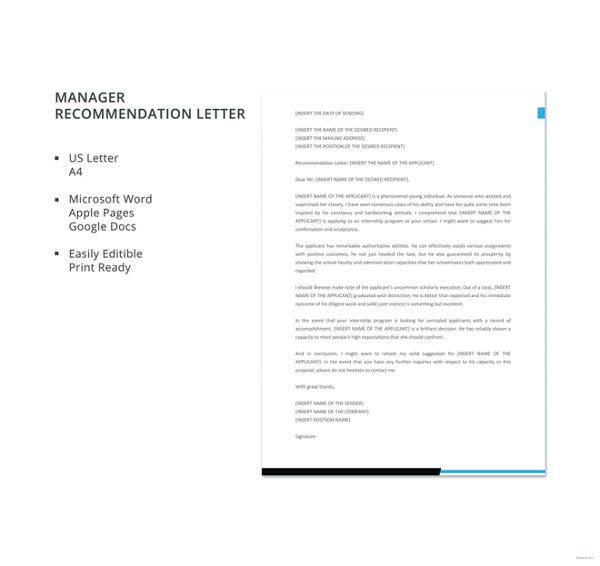 manager-recommendation-letter-template