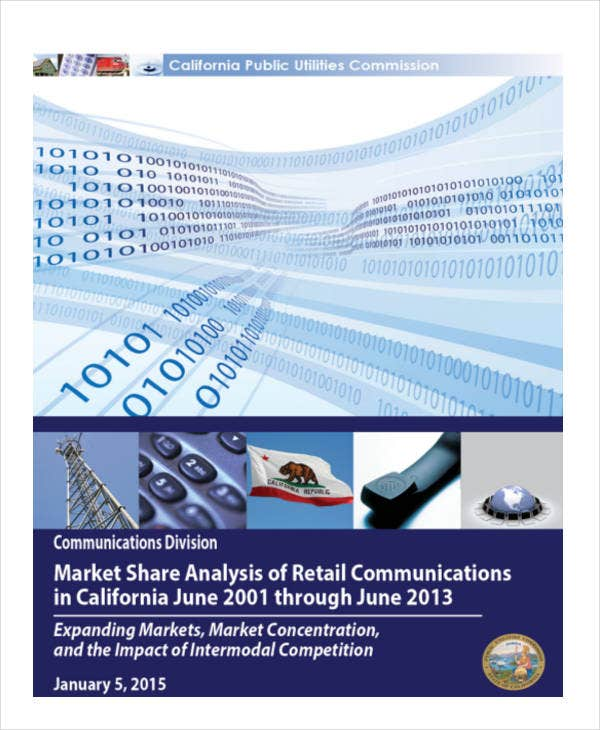 market share analysis of retail communication