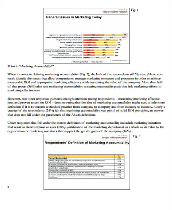 marketing accountability study white paper
