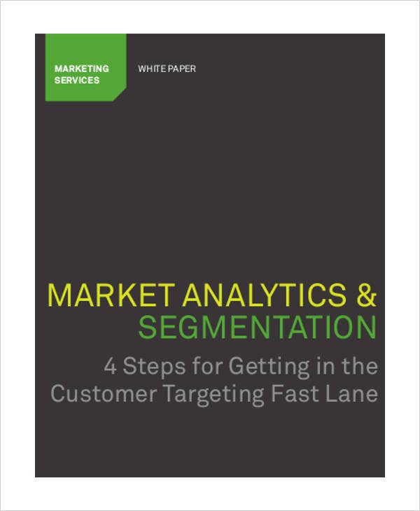 marketing analytics white paper