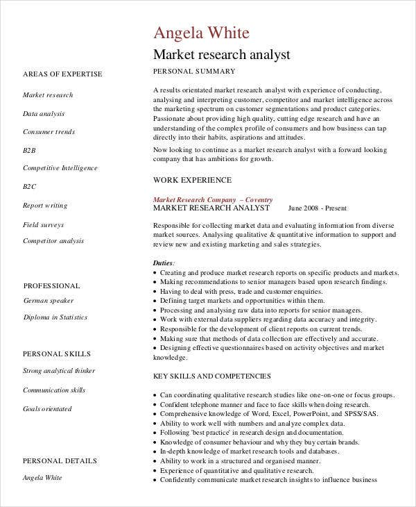 27+ Marketing Resume Templates In PDF