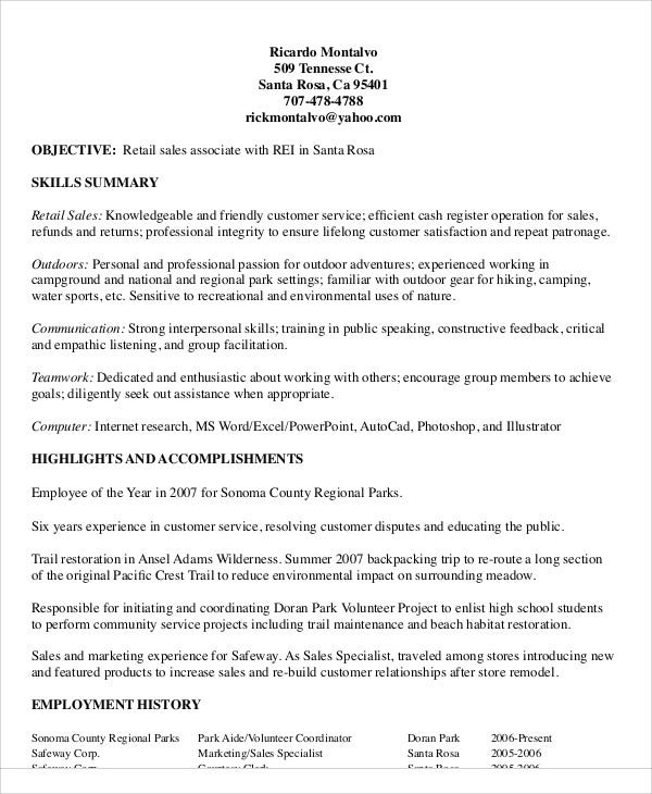 marketing sales associate resume2