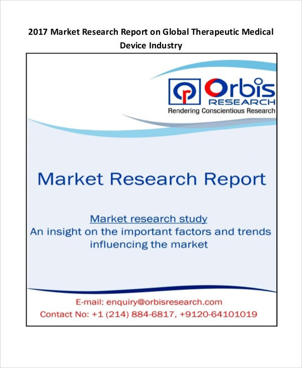 medical device research report