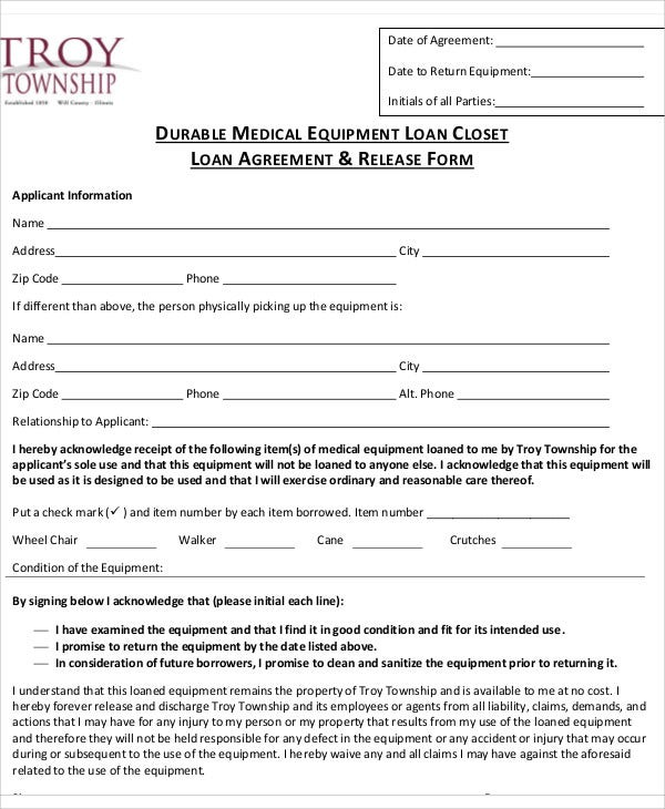 25 Loan Agreement Templates