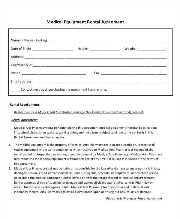 Rent Agreement Format Templates  Free  Premium Templates