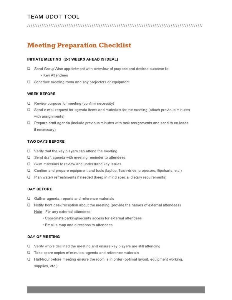 9 Checklist Templates for Business | Free & Premium Templates